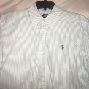 Size 14 boys Ralph Lauren button up